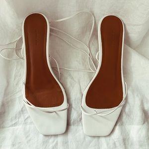 Rejina Pyo Doris White Sandals 7